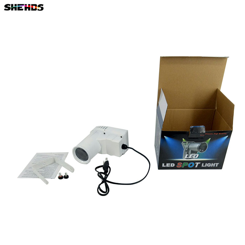 SHEHDS 10W Cree led Lamp RGBW 4IN1 LED Pinspot Light DMX512 3/7 Channels Control Dj Disco Ball Stage Light<br>