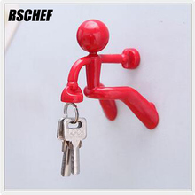 RSCHEF Creative home articles small wall magnet key hook(China)