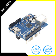 Buy Ethernet Shield W5100 Network Expansion Board Micro SD Slot Arduino for $4.74 in AliExpress store