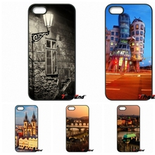 For iPhone 4 4S 5 5C SE 6 6S 7 Plus Samung Galaxy J5 J3 J7 A5 A3 S7 S6 Edge Prague Capital of the Czech Republic Phone Cover
