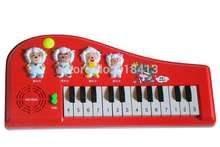 Children's toys pleasant goat electronic organ toy piano educational piano music piano baby infant children