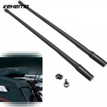 Vehemo 2pcs Car Truck Antenna Radio Signal Aerial for Harley Davidson Models Car Styling with 6 Screws(China)