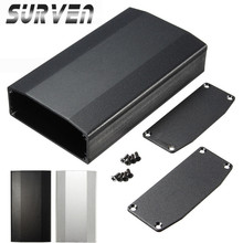 SURVEN Aluminum Case Box For Circuit Board Electrical DIY Shell Enclosure For Electronic Projecter Power Supply Units Amplifier