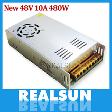 New 48V 10A 480W Switch Power Supply Driver Switching For LED Strip Light Display 110V/220V