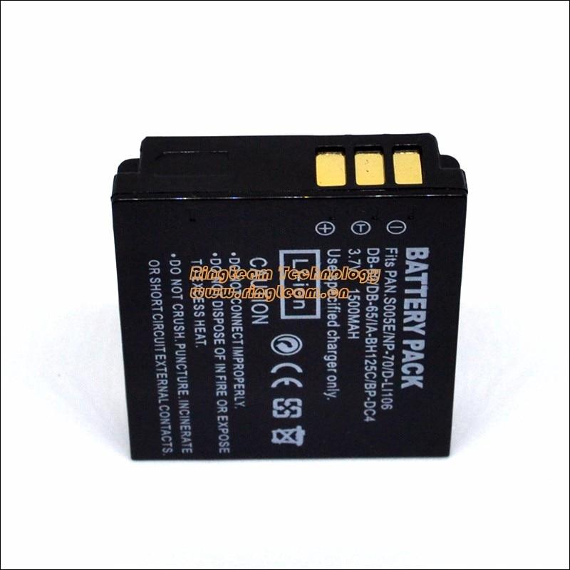 Battery Pack DB-60 DB-65 DB60 DB65 for Ricoh Digital Cameras Caplio R3 R4 R5 R30 R40 GX100 GX200 G600 G700 GR Digital 1 2 3 i ii<br><br>Aliexpress
