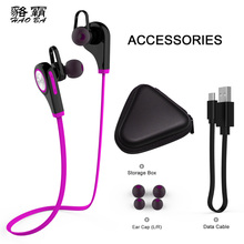 HAOBA Q9 Sports Bluetooth headset high quality Music Bluetooth headset 4.1 Noise reduction Features for Samsung /HUAWEI(China)