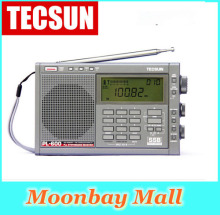 Original TECSUN PL-600 Digital Tuning Full-Band FM/MW/SW-SBB/PLL SYNTHESIZED Stereo Radio Receiver (4xAA) PL600 rqdio VS Degen