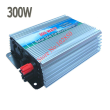 300W Solar On Grid Inverter DC10.5-28V to AC110V/220V 300W pure sine wave Solar Grid Tie Micro Inverter