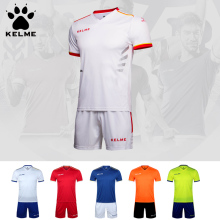 KELME Professional Customize Adult/kids Breathable Soccer jersey Uniform Set 2016 Football Jerseys Shirt K16Z2004(China)