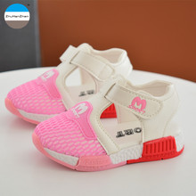 2017 1 to 3 years old baby boy and girl sandals breathable children casual shoes high quality soft bottom kids toddler shoes