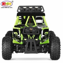 2017 Hot Sales 100%  Original Wltoys 18628 1/18 2.4G 6WD Electric Off-Road Rock Crawler Climbing RC Buggy Car RTR
