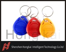 100pcs Free shipping Hot Selling EM4305 Low Frequency RFID Keyfob Environmental Made in ABS