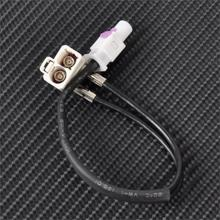 CITALL Radio Antenna Adapter 1-2 Conversion Cable for VW RNS 310 RNS315 RNS510 RCD310 RCD510 Skoda Columbus Amundsen Mediasystem(China)