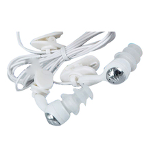 Wholesale Water proof Headphone Earphone for MP3 MP4 Underwater White(China)