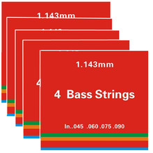 5Sets/lot .045-.090 (1st-4th) 4-strings Bass strings electric Bass Guitar Strings guitar parts musical instruments Accessories