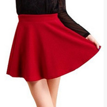 Buy LE CELEBRE Summer Mini Skirts 2018 Bubble Cotton Women Ball Gown Skirt Solid Color Ladies Sexy Skirt Black Red Royal Blue for $5.61 in AliExpress store