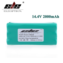 ELEOPTION 14.4 Volt 14.4V 2000mAh 2.0Ah Ni-MH High Quality Replacement Vacuum Battery for Libero Vacuum 0606004, M606(China)