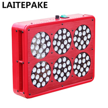 LAITEPAKE Apollo 6 450W LED Grow Light kit Full Spectrum With  Lens Pants Grow Faster Flower Bigger  High Yield Hot style