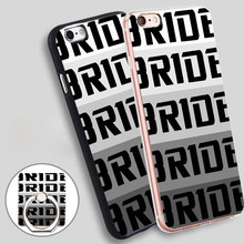 Custom Bride Racing Seat JDM Hellaflush USDM Phone Ring Holder Soft TPU Silicone Case Cover for iPhone 4S 5C 5 SE 5S 6 6S 7 Plus