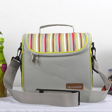 Oxford Insulated Lunch Bag Women Cooler Lunch Box Bags Thermal Food Picnic Small Bags Men Storage Container Lunch Bag for Kids(China)