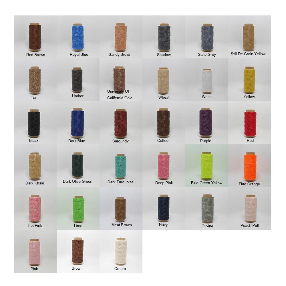 waxed thread colors