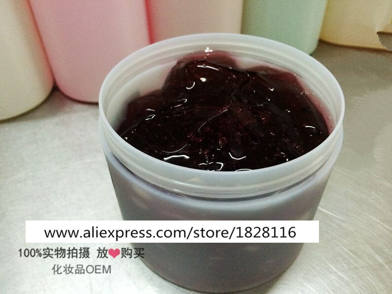 1KG Red Wine Gel Jelly Facial Mask Antioxidant Moisturzing Whitening Brighten Tone Age Spots Beauty Salon Equipment<br>