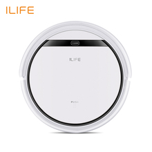 ILIFE V3S Pro Robot Vacuum Cleaner, Home Household 600Pa Suction Sweep Machine for Pet hair, Anti Collision Self Charging(China)