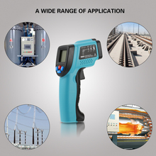 RICHMETERS GM550 Digital Thermometer LCD Infrared IR Pyrometer Temperature Tester diagnostic-tool +Backlight -50~550 Degrees(China)