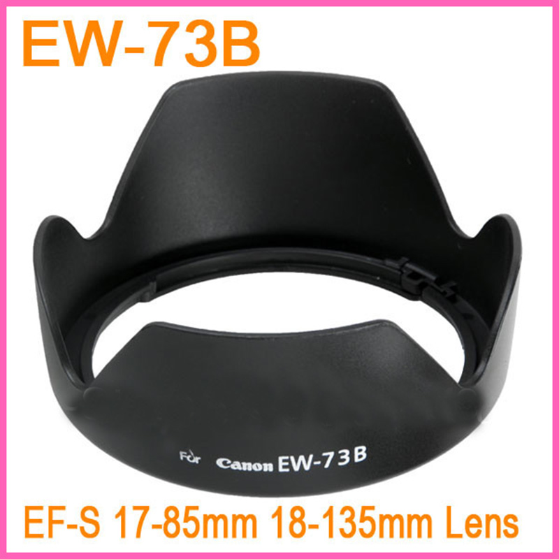 Wholesale 1PCS EW 73B EW73B EW 73B Bayonet shape flower Lens Hood For Canon EOS EF