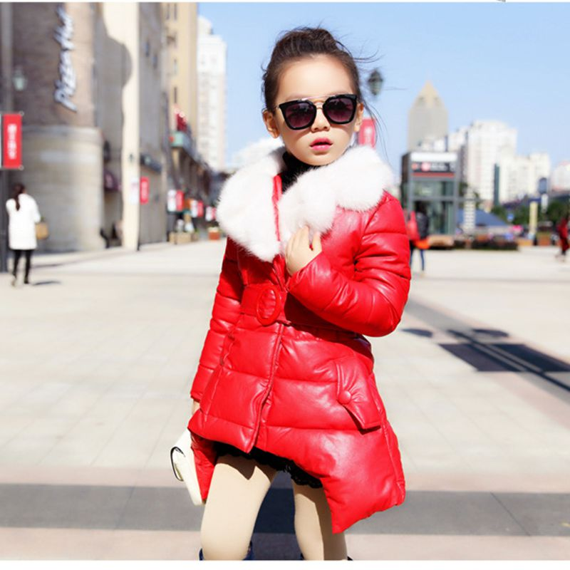 2017 New Fashion Winter Girls Clothes  Long Sleeve Kids Coat Fur Coat Cute Princess Thicken Leisure Children Coat HL0603<br><br>Aliexpress