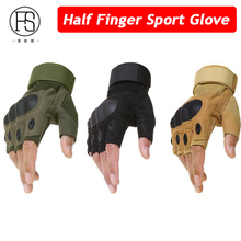 Buy Army Tactical Gloves Men Half Finger Type Military Combat Gloves Shooting Hunting Gloves Training Fitness Gloves for $6.79 in AliExpress store
