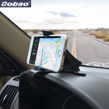 Cobao universal car dashboard holder stand 360 Rotating clip smartphone car holder mobile phone accessories cell phone stand(China)
