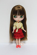 Free Shipping Top discount  DIY  Nude Blyth Doll item NO. 19 Doll  limited gift  special price cheap offer toy