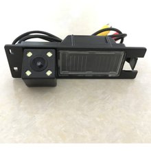 Special LED Light Night Vision Rear View Camera for Opel Astra/Zafira/Vectra/Fiat Linea/Grande Punto Reverse Back Parking Camera(China)