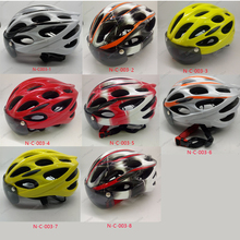 N-C-003 2017 New Style Integrally-molded Windproof Goggles Bicycle Helmet Size M(54-60mm)(China)