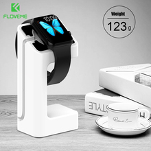 FLOVEME Luxury Simple Plastic ABS Charging Dock Stand Holder for Apple iWatch Bracket Stand For Smart Watch Charging Holder