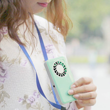 Mini Portable USB Rechargeable fan Candy colors portable handheld Ifan fan with 700mA lithium battery