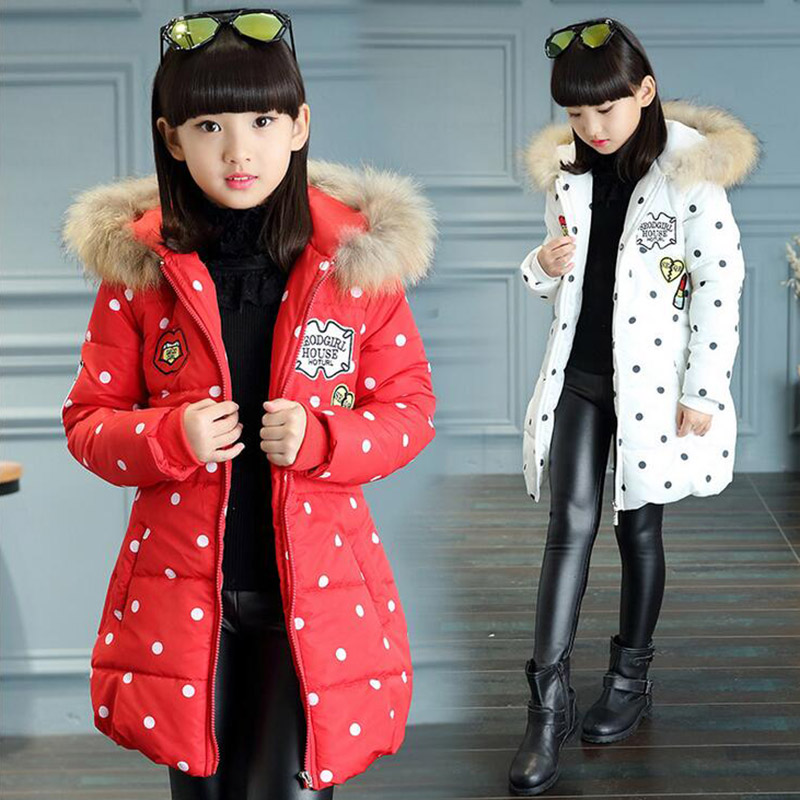 WENDYWU new arrival girls coat Girls wadded down jacket outerwear cotton-padded jacket thickening childrens clothing winter<br>