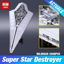 2017 LEPIN 05028 Star Wars Execytor Super Star Destroyer Model Building Kit  Block Brick Toy Compatible 10221 Educational Gift
