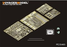 KNL HOBBY Voyager Model PE35465 World War II US military GMC 2.5-ton 6X6 truck upgrade with metal etching (T)