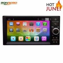 2din 7 Android 6.0 Автомобильный Dvd Video Player Для Hilux2004-2008 Авторадио Аудио Радио GPS Навигации Cpu: Quadcore mirrorlink Сенсорный *