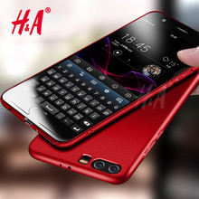 H&A Ultra Thin Back Protection Cases For Huawei P10 Lite Matte PC Full Case For Huawei P10 lite P10 Plus Cover black Hard