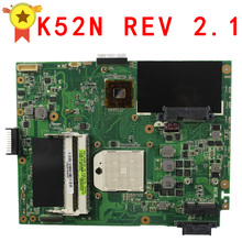 Motherboard For Asus K52N notebook Mainboard free shipping