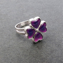 Clover Rings for women mood ring(China)