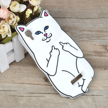Cat Cartoon Painting Silicone Case For Prestigio muze A5 PSP5502DUO Soft Silica gel Cover For Muze A5 5502 Duo Phone Case