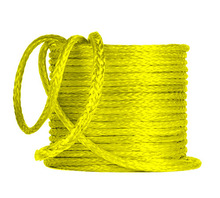 Factory Direct Sale 8mm x 100m 12 Strand Extreme UHMWPE Synthetic Winch Rope Plasma Rope for ATV UTV SUV 4X4 4WD Boat Off-road