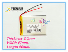 606790 3.7V 4500mah Lithium polymer Battery For iPad 3 Tablet PCs PDA Digital Products Rechargeable batteries