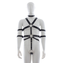 Buy MaryXiong Sexy Body Harness Slave Fetish Wear Adult Game PU Leather Bondage Restraint Gear BDSM S&M Firting Sex Toys Couples