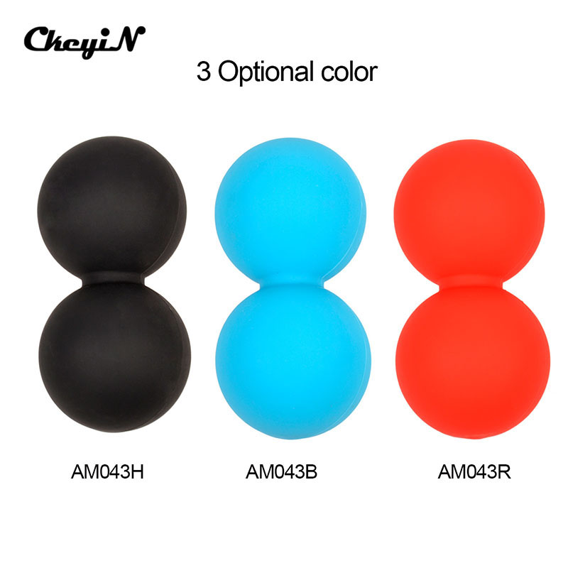 Double Cross Massager Ball Rollers Back Trigger Point Therapy Tools Yoga Massage Ball Physio Gym Relief Mobility Tool  5051<br><br>Aliexpress