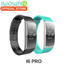 Buy IWOWNFIT I6 PRO Smart Wristband Heart Rate Monitor IP67 Waterproof Smart Bracelet Fitness Tracker support Andriod IOS for $27.53 in AliExpress store
